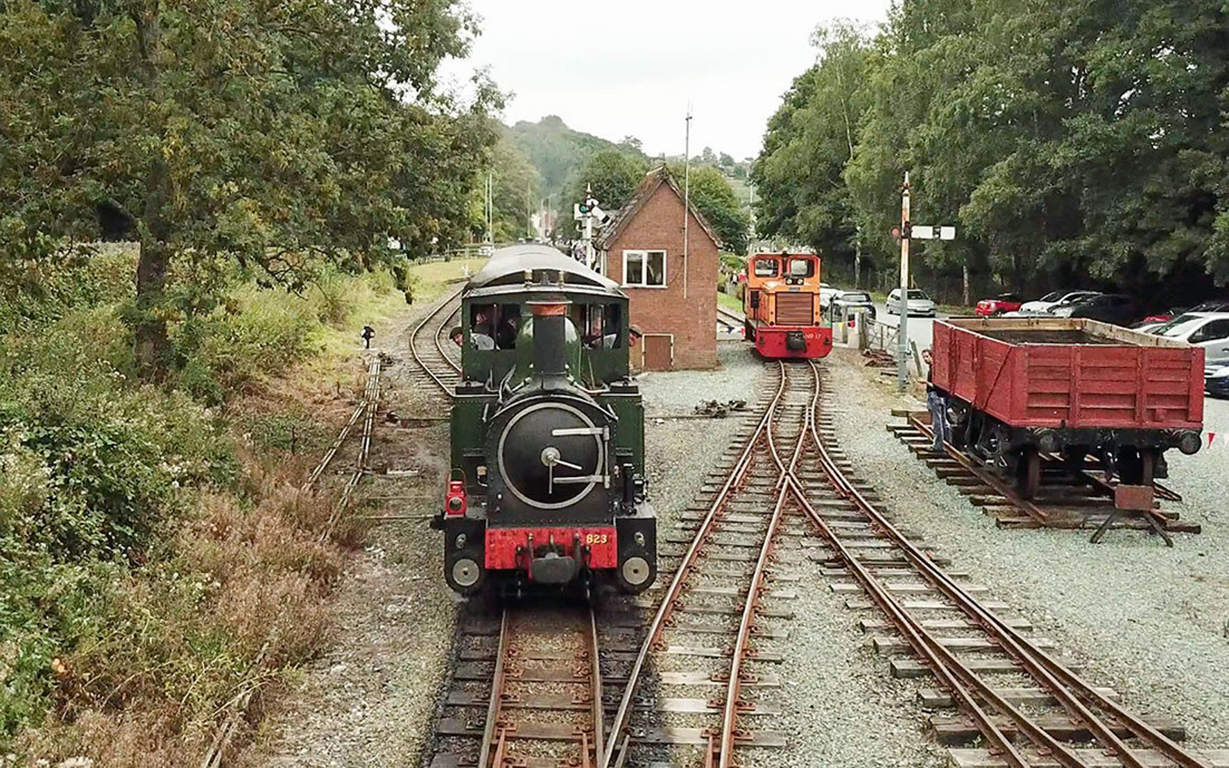Steam back to Welshpool in September