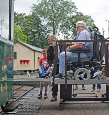 Welshpool & Llanfair Light Railway celebrates 'Disability First' project completion