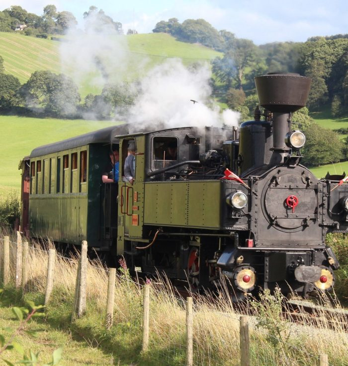 Llanfair line celebrates firsts at its steam gala