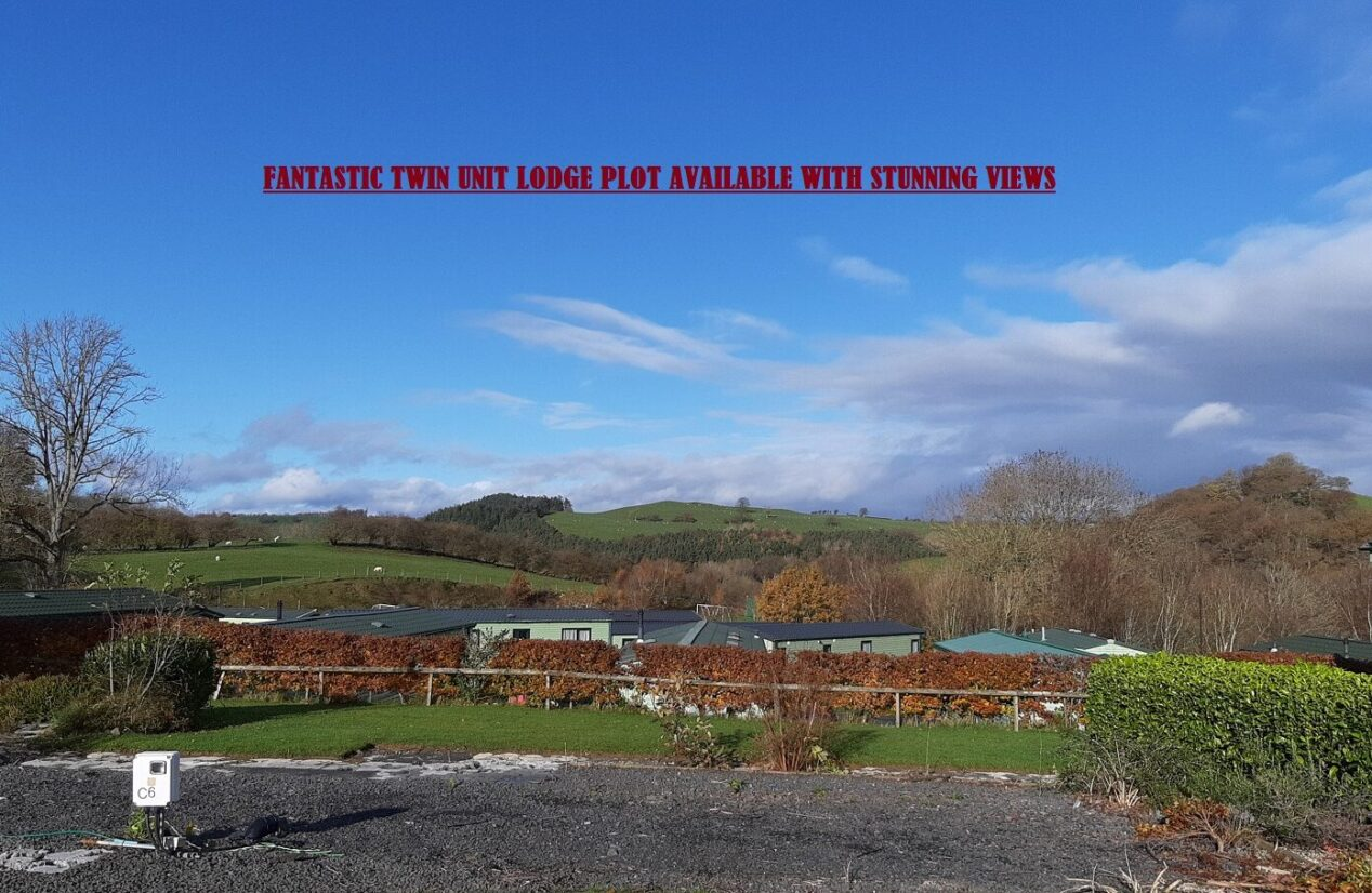 THIS FANTASTIC OPPORTUNITY TO BUY A NEW LODGE AND SITE IT ON OUR FANTASTIC 5 STAR PARK