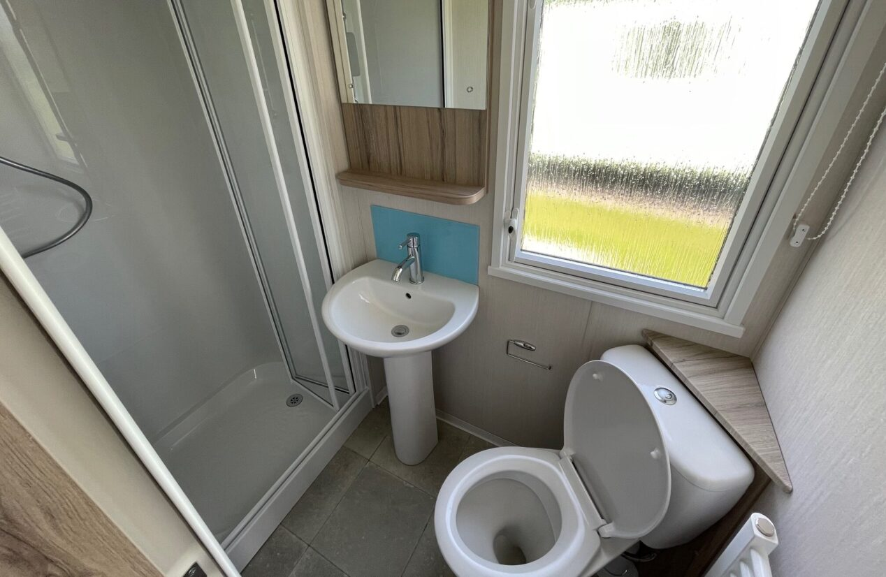 Family shower and toilet