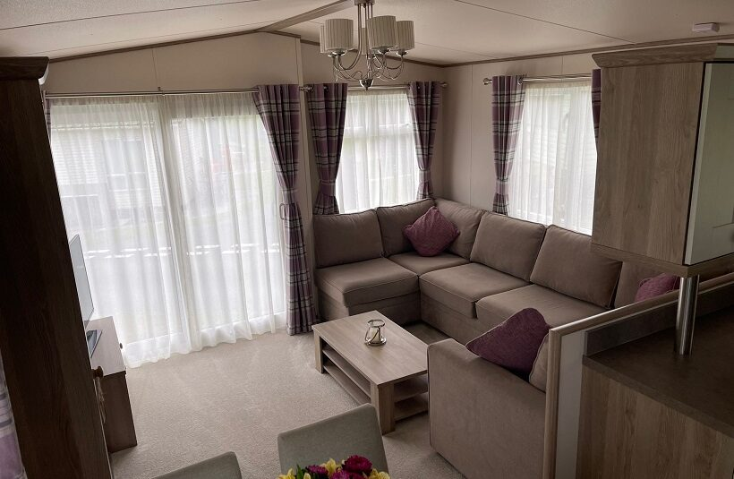 an extremely comfortable and cosy lounge